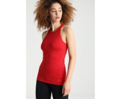 Curare Tank Top Rundhals chili