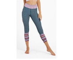 Dharma Bums Aveiro Pink High Waist Leggings, 7/8