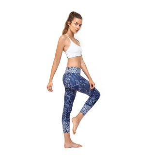 Dharma Bums Java Blue High Waist  7/8