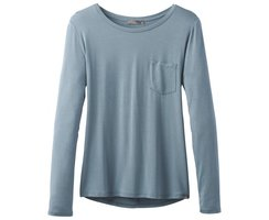 Prana Foundation Langarmshirt Bayonblue