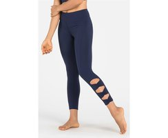 Dharma Bums Navy Bow Legging 7/8