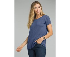 Prana Cozy Up T-Shirt equinox blue heather